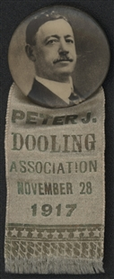 Peter Joseph Dooling Association Ribbon Badge