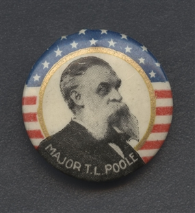 Theodore Lewis Poole Lapel Pin