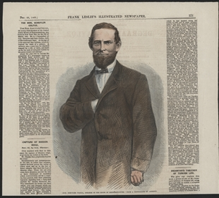 Hon. Schuyler Colfax, Speaker of the House of Representatives