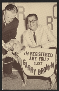 Garry Eldridge Brown Campaign Postcard