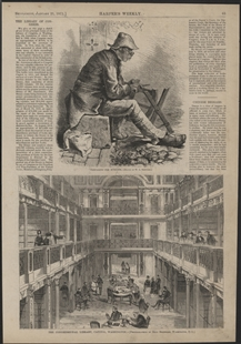 The Congressional Library, Capitol, Washington