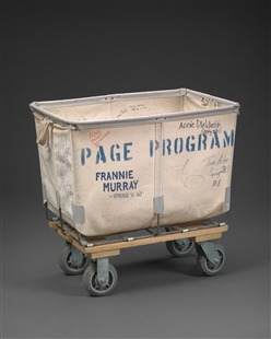 Page Program Flag Cart