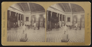 Old House of Representatives Stereoview