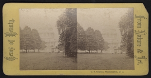 U.S. Capitol, Washington, D.C. Stereoview