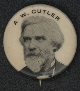 Augustus William Cutler Lapel Pin