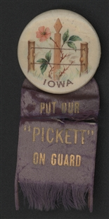 Charles Edgar Pickett Ribbon Badge