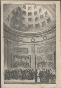 Interior of the Rotunda - Procession to the Portico.