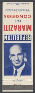 Joseph James Maraziti Campaign Matchbook