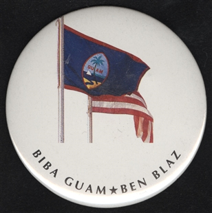 Ben Garrido Blaz Lapel Pin