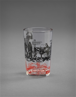 Davy Crockett Juice Glass