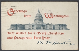 Greetings from Washington Postcard