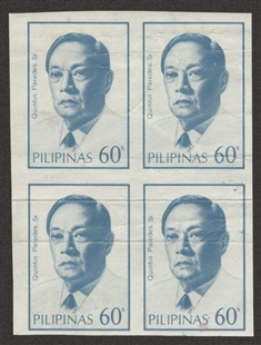 Quintin Paredes Postage Stamp Proofs