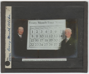 """Every Month Alike"" Lantern Slide"
