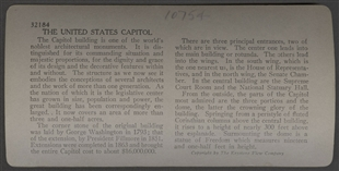 United States Capitol - The Most Imposing Building in America, Washington, D.C. Stereoview