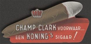 James Beauchamp (Champ) Clark Cigar Label