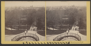 West from the Capitol, Washington DC Stereoview