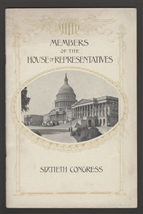 Members of the House of Representatives Sixtieth Congress