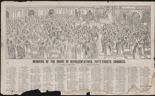 Members of the House of Representatives, Fifty-Fourth Congress