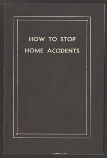 How to Stop Home Accidents Booklet
