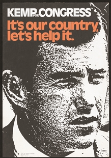 Jack French Kemp Poster