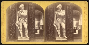 Statuary in U.S. Capitol Stereoview
