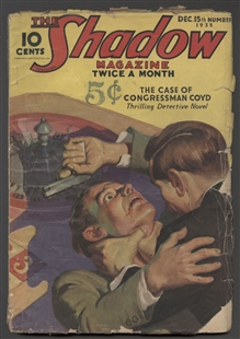 The Case of Congressman Coyd, The Shadow Magazine