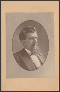 Unknown Man Cabinet Card