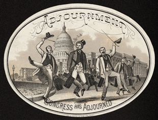 Adjournment Cigar Label