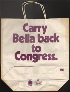 Bella Savitzky Abzug Shopping Bag