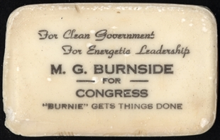 Maurice Gwinn Burnside Soap