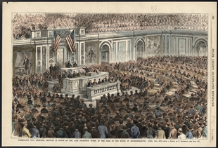 Washington City.—Memorial Services in Honor of the Late Professor Morse, in the Hall of the House of Representatives