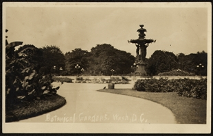 Botanical Gardens, Wash, D.C., Postcard