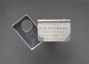 Albert David Baumhart Jr. Cigar Cutter