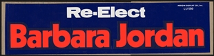 Barbara Charline Jordan Bumper Sticker