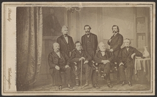 House Managers for the Impeachment Trial of Andrew Johnson Carte-de-Visite