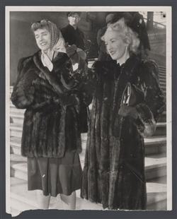 Clare Boothe Luce and Winifred Claire Stanley
