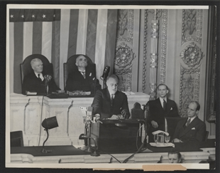 President Roosevelt's State of the Union Address