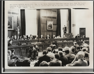 President Gerald Ford Before House Judiciary Committee