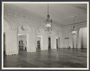 Longworth Building Lobby with Elevators