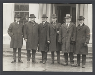 Congressmen Mondell, Fordney, Towner, Campbell, Longworth, and Fess