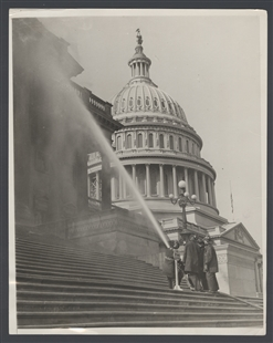 Not a Fire—Just a Bath for the Capitol