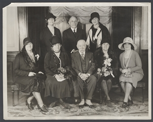 Women Members of the United States House of Representatives Honored at Luncheon of the League for Political Education