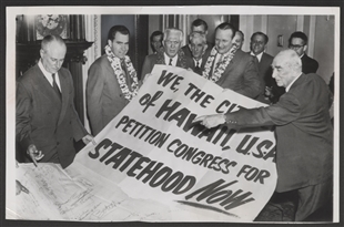 Giant Petition for Hawaiian Statehood