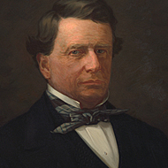 Speaker of the House John Wesley Davis of Indiana