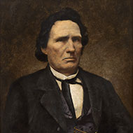 Representative Thaddeus Stevens of Pennsylvania