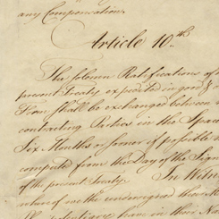 "The Continental Congress's Ratification of the ""Treaty of Paris"""
