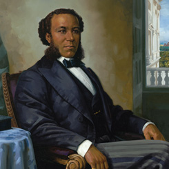 Representative Joseph Rainey of South Carolina, the First African American to Serve in the House