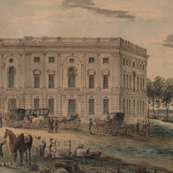 The First Time the House Met in the North Wing of the Capitol | US House of Representatives: History, Art & Archives