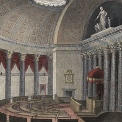 The First House Chamber Funeral