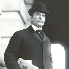 Representative Perry Belmont of New York
